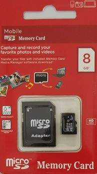 Picture of 8 GB SD Card