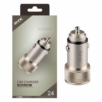 Picture of Metallic Dual USB Car Charger