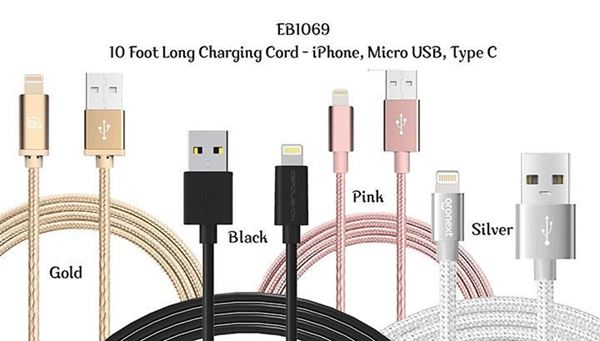Picture of 10 Ft. Android Cords