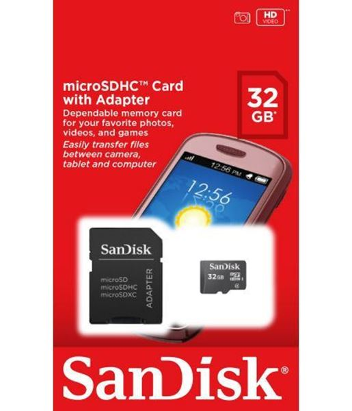 Picture of 32 GB SD MEMORY CARD