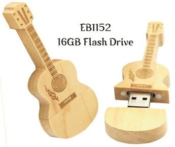 Picture of Guitar Shaped Flash Drive