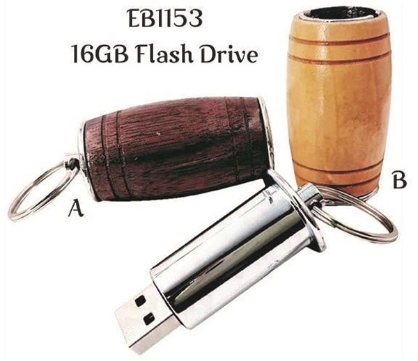 Picture of Barrel Shaped Flash Drive
