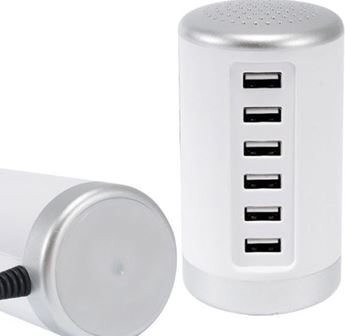 Picture of 6 USB Port Charging Station