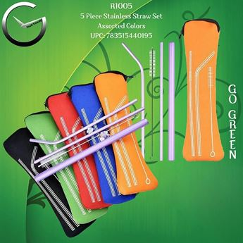 Picture of 5 Pieces Straw Set